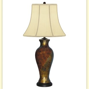 Affordable Elegance Hand Painted Porcelain 34 Table Lamp By JB Hirsch Home Decor
