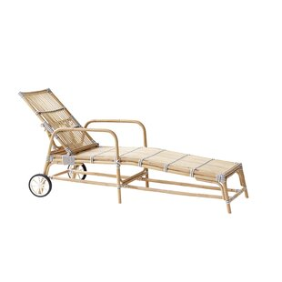 Bayou Breeze Holder Rattan Reclining Chaise Lounge