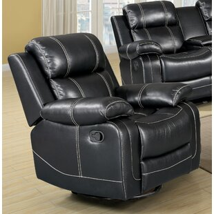 Courter Manual Swivel Glider Recliner