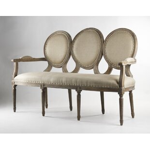 Medallion Settee by Zentique