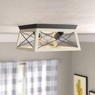Delon 2-Light Flush Mount