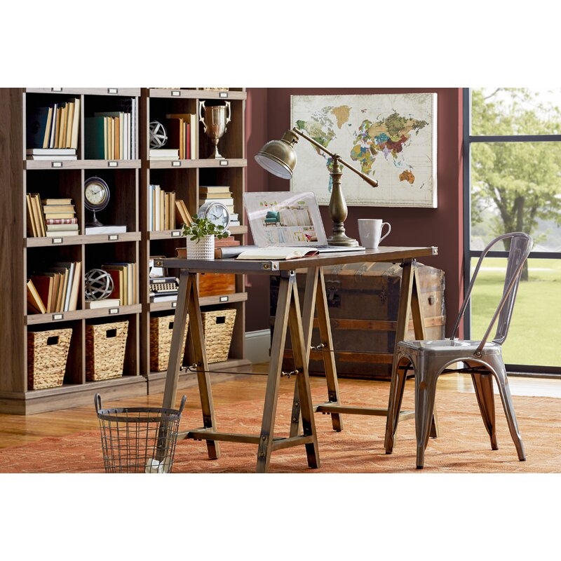Beachcrest Home Bowerbank Standard Bookcase & Reviews | Wayfair