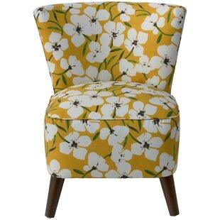 Latitude Run Coralie Slipper Chair