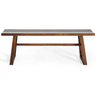 Gingko Home Furnishings Chelsea Walnut Bench