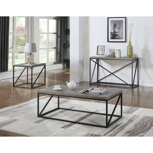 Huber Coffee Table by Gracie Oaks