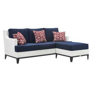 Tommy Hilfiger Hampton Patio Sectional wi..