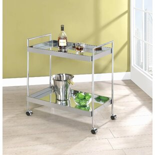 Tarrance 2 Tier Serving Bar Cart by Winston Porter