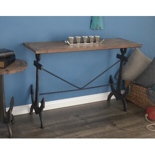 Compare prices Metal/Wood Console Table ByCole & Grey