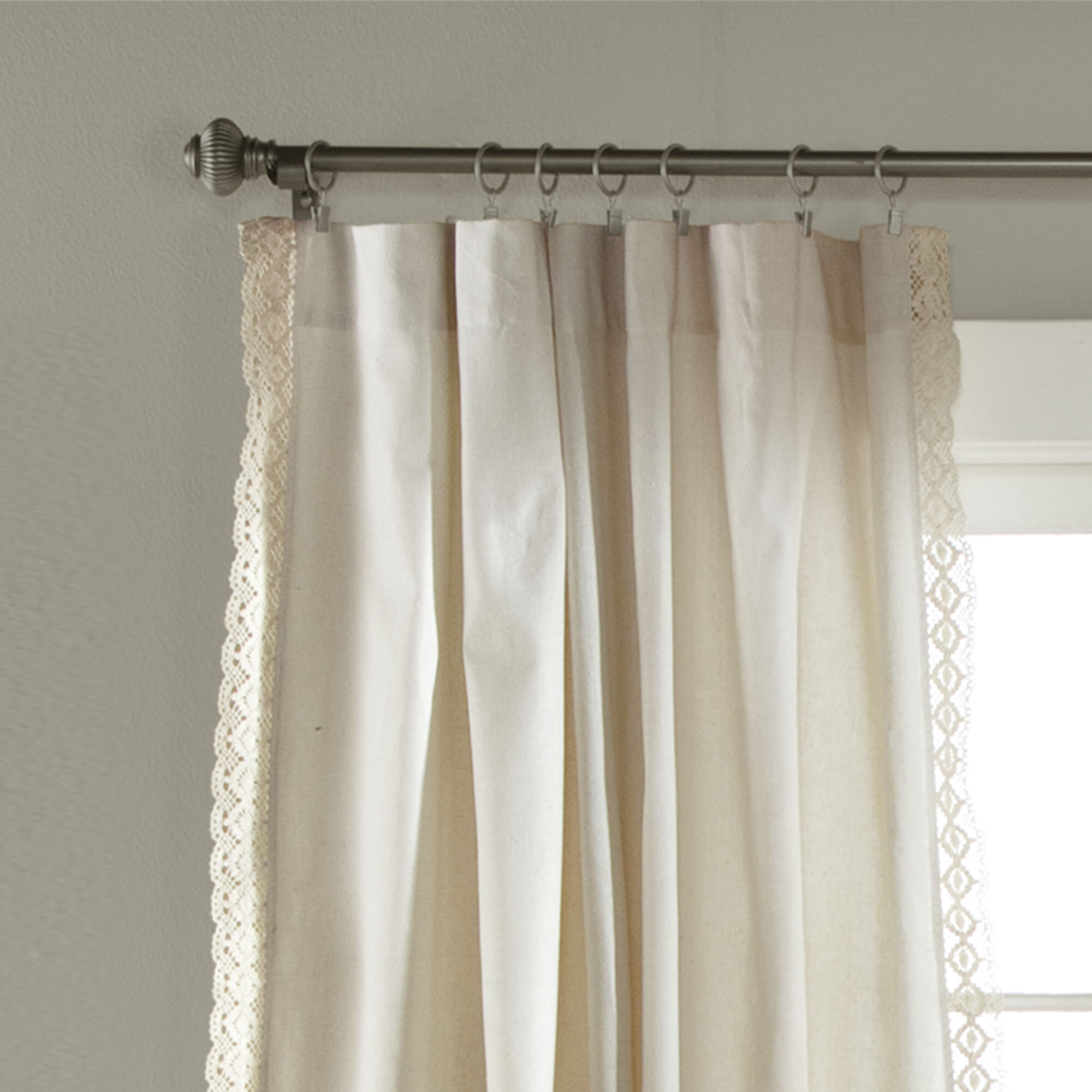 Panels Central Park Sheer Beige And White Stripe Farmhouse Curtains Boucle Linen Window Curtain Panel Pairs Yarn Dyed Woven 54 Inches Long For Living Room Bedroom 2 Pack Rod Pocket Rustic Living