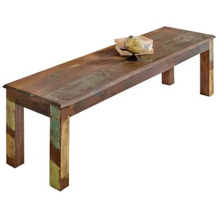 Alma Wood Dining Bench By Latitude Vive