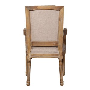 Raymund Distressed Upholstered Dining Chair (Set of 2) by Ophelia & Co.