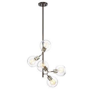 Brayden Studio Anglin 5-Light Chandelier