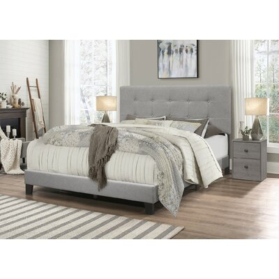 Channel Tufted Bed Wayfair