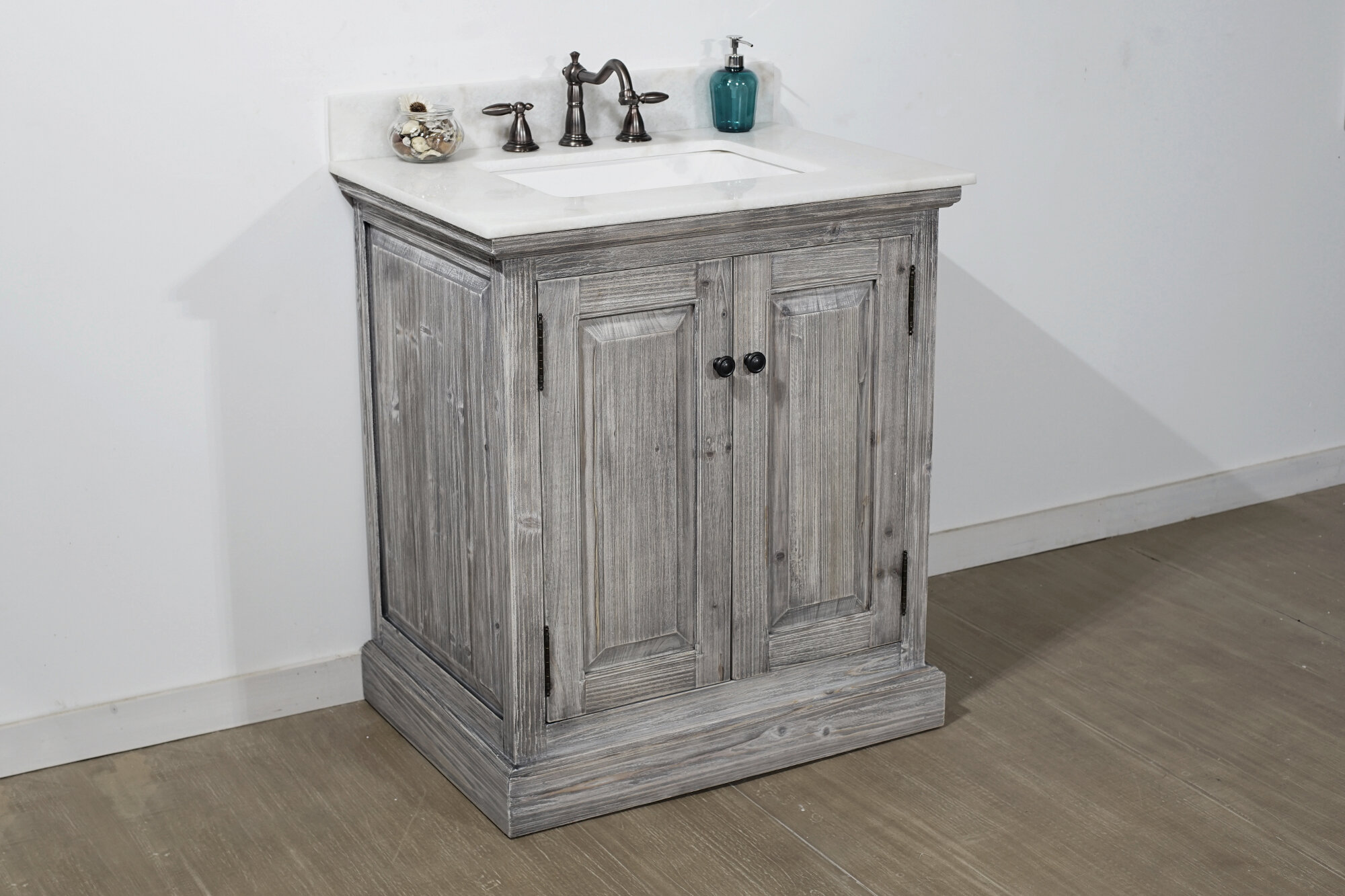 Gracie Oaks Swinyer 30 Single Sink Bathroom Vanity Set Reviews Wayfair