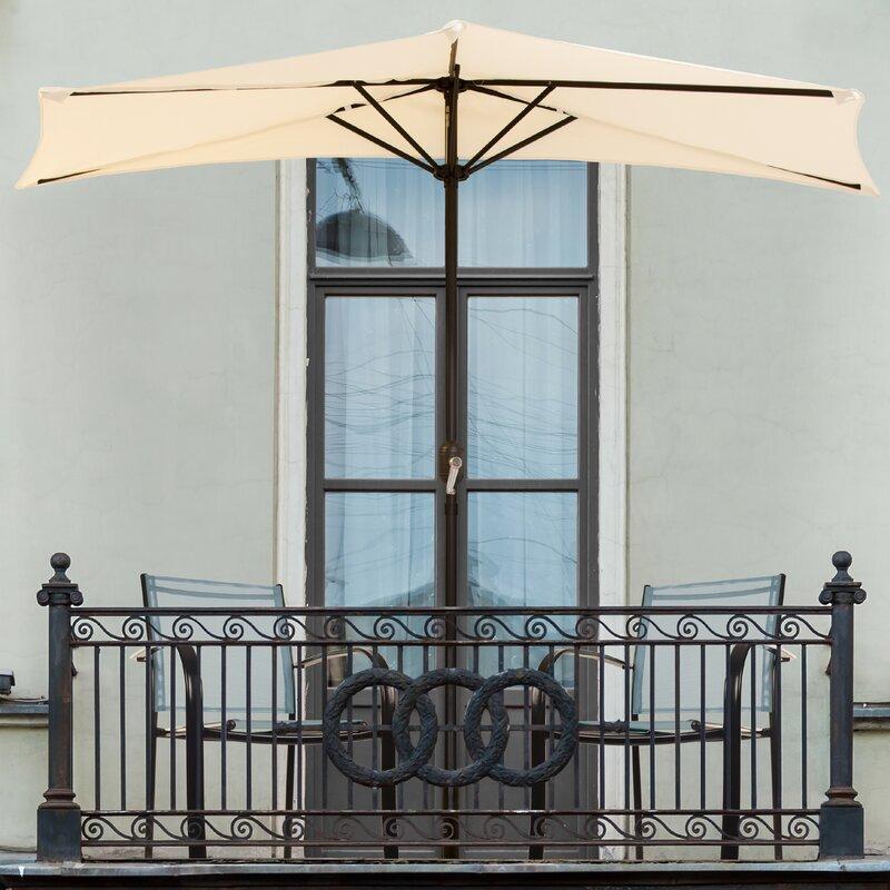Quickview - Half Patio Umbrellas You'll Love Wayfair