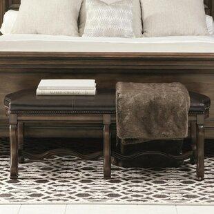 Montebella Genuine Leather Bench by Bernhardt
