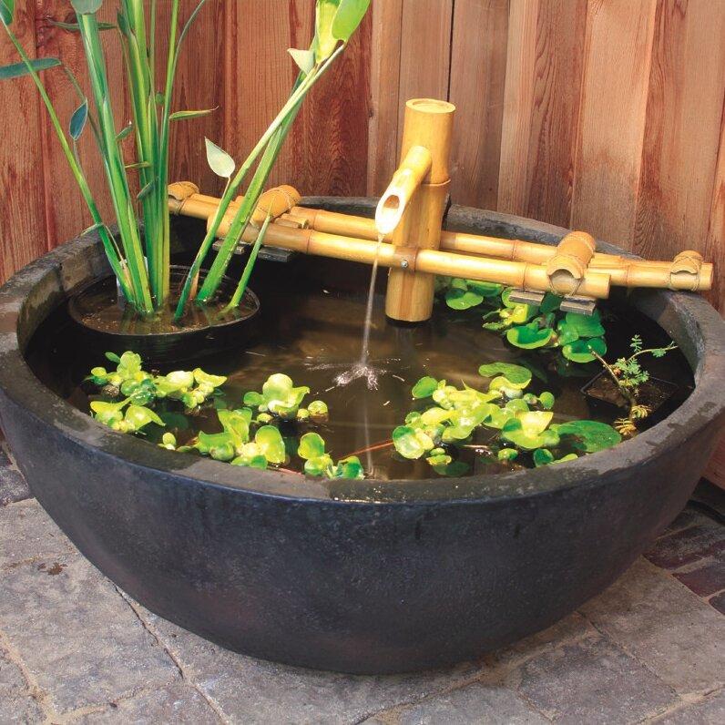 Bamboo Pouring Fountain Set