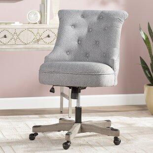 Alcott Hill Maria Dots Mid-Back Desk Chair