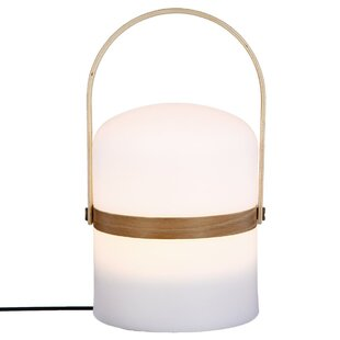 Belcher Plug-in White LED Outdoor Table Lamp By Freeport Park
