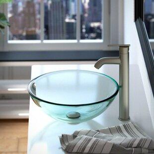 Save To Idea Board. +1. MR Direct. Glass Circular Vessel Bathroom Sink