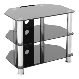 Glass Corner TV Stand For TVs Up To 32