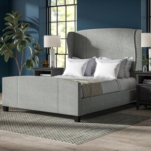 Progreso Queen Upholstered Panel Bed by Greyleigh