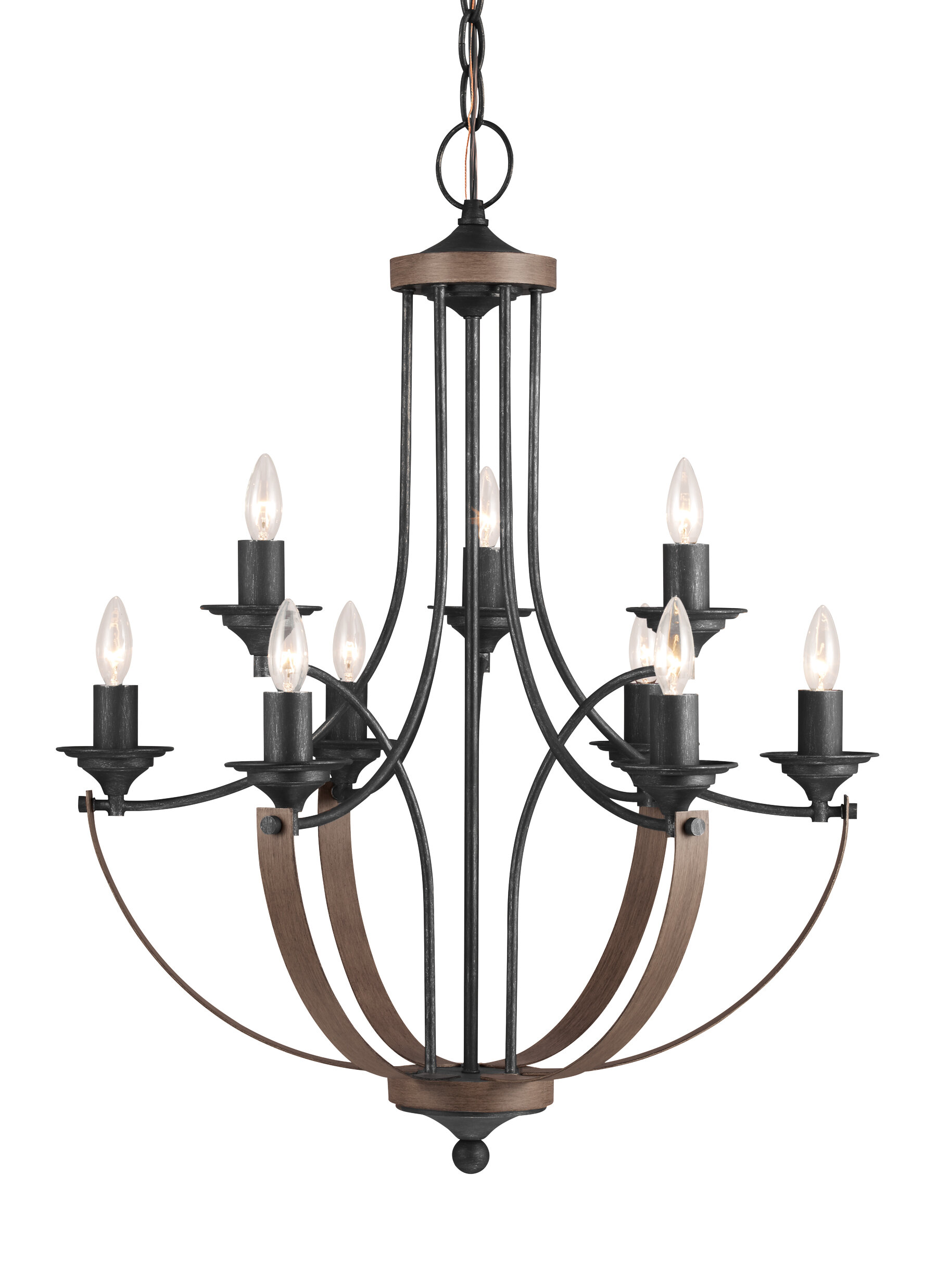 Camilla 9 Light Candle Style Chandelier & Reviews