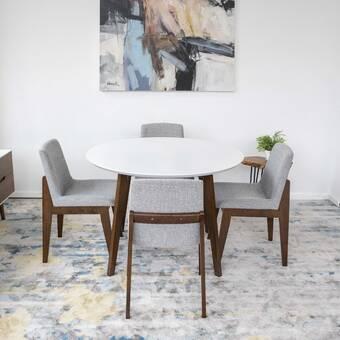 Everly Quinn Keagan Modern Dining Table Wayfair