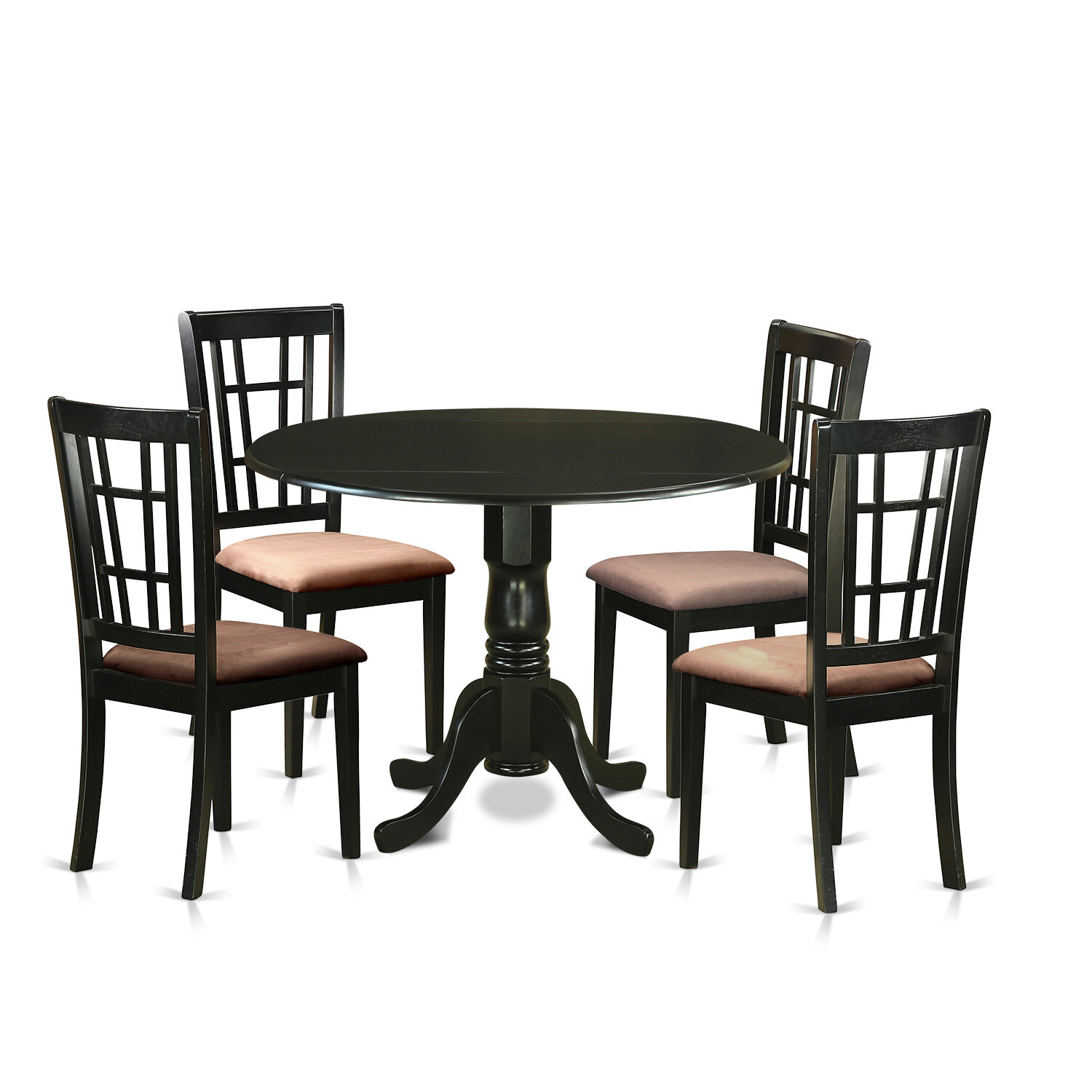 Charlton Home Gloucester 5 Piece Extendable Dining Set Reviews