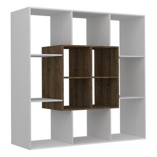Savings Gentle Modern Geometric Bookcase by Ebern Designs