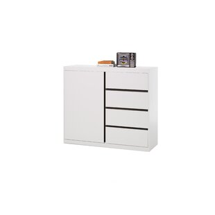 Gilliam 4 Drawer Tallboy By Mercury Row