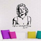 Marilyn Monroe Wall Decal Wayfair