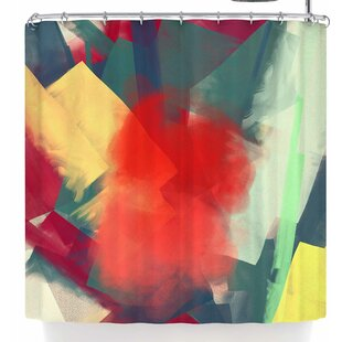 Rosa Picnic Abs-4 Single Shower Curtain by East Urban Home Wonderful