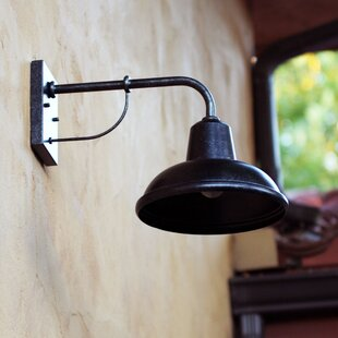 Reviews Dresden Outdoor Barn Light By Beachcrest Home