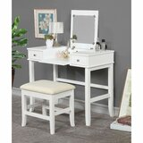 Marsily Vanity Set with Mirror by Canora Grey