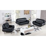 Kraemer 3 Piece Standard Living Room Set by Orren Ellis