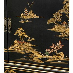 Chinese 3 Drawer Combo Dresser by Oriental Furniture