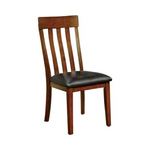 Soeren Transitional Solid Wood Dining Chair (Set of 2) by Red Barrel Studio