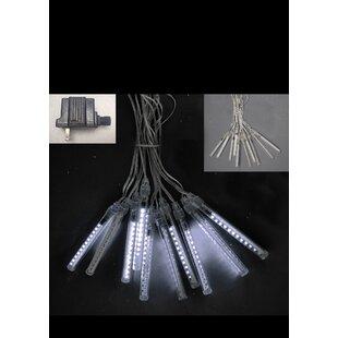 Hi-Line Gift Ltd. 2 Piece 10 Tubes with 12 LED Meteor Lights