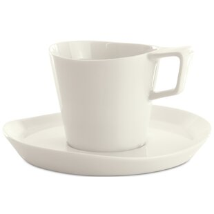 Eclipse 2 Piece Tea Cup and Saucer Set