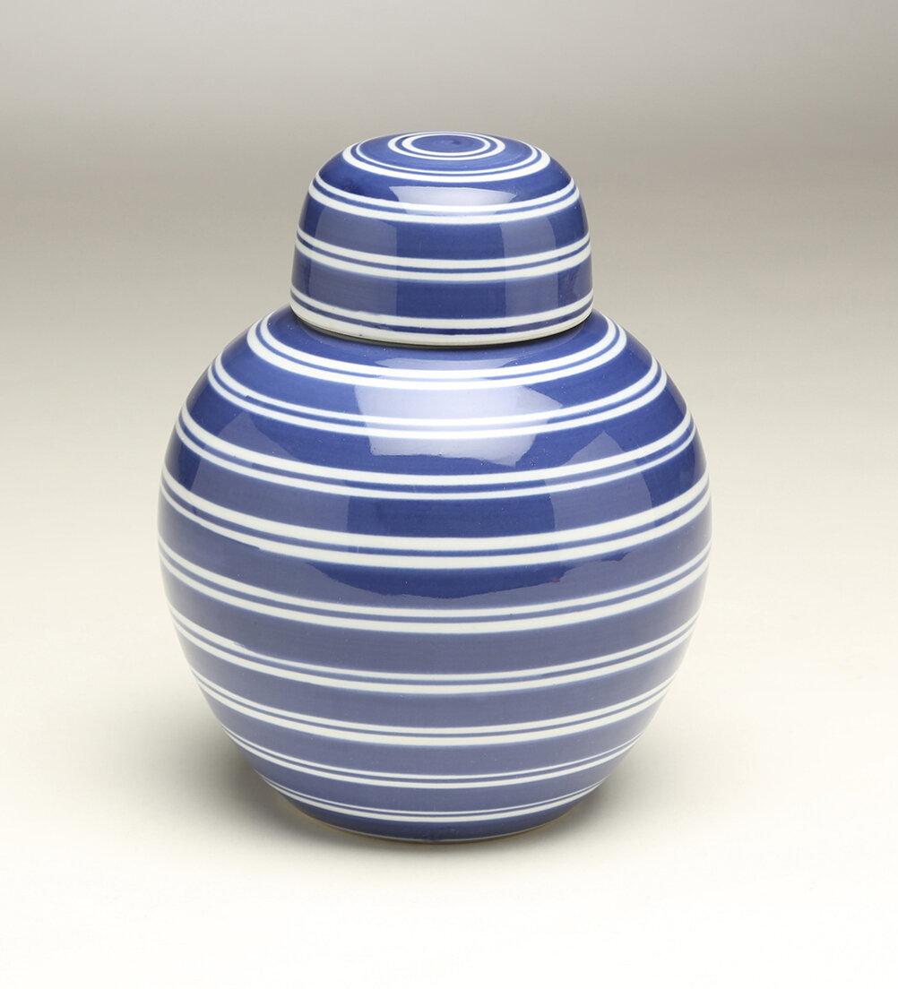 Charlton Home Fiorillo Stripe Jar Wayfair