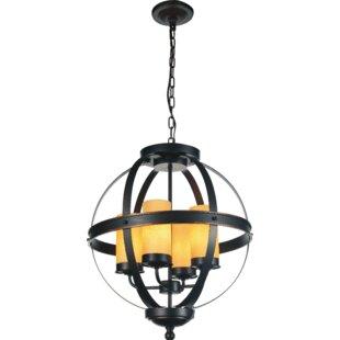 CWI Lighting Irene 4-Light Globe Chandelier