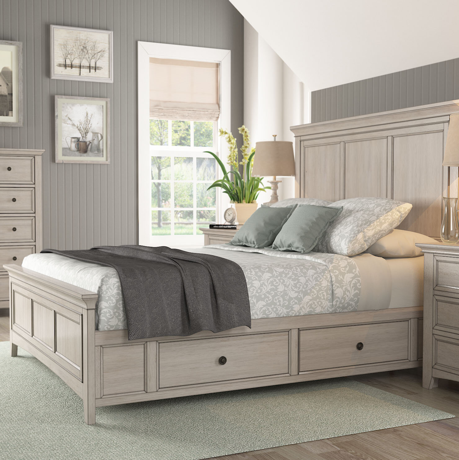 Queen Beds Bed Frames With Storage You Ll Love In 2021 Wayfair