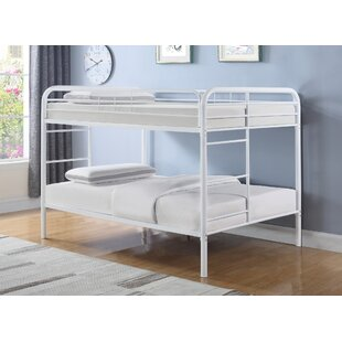Wellesley Transitional Full Over Full Bunk Configuration Bed with Ladder