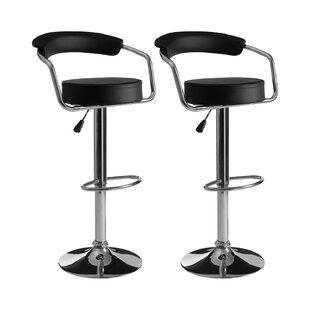 Skylar Swivel Adjustable Bar Stool (Set Of 2) By Castleton Home