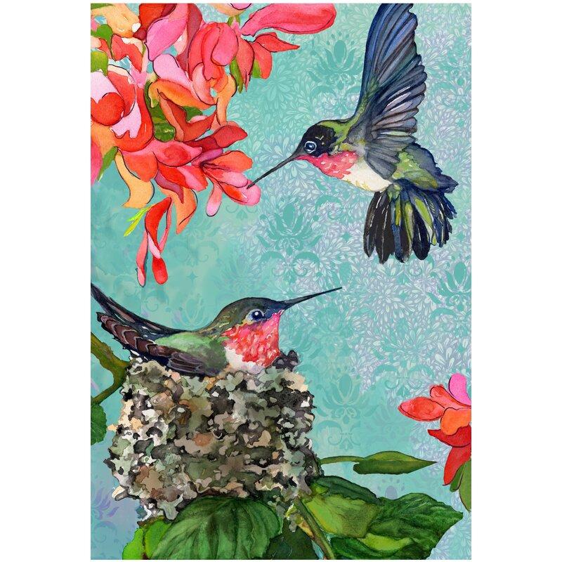 The Cranford Group Hummingbirds Garden Flag & Reviews ...