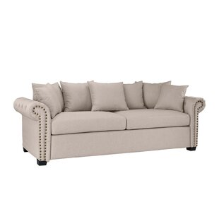 Best Choices Dunnstown Classic Scroll Arm Standard Sofa by Charlton Home Reviews (2019) & Buyer's Guide