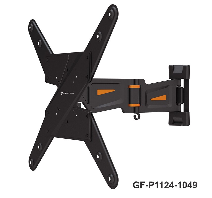 "Tv Wall Mounts gforce full motion tv wall mount for 23""-55"" flat panel screens"