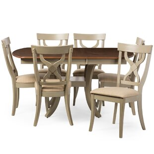 Baxton Studio Balmoral 7 Piece Dining Set Wholesale Interiors