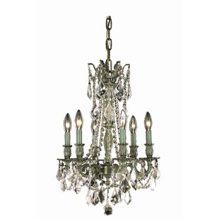 Utica 6-Light Candle Style Chandelier by Astoria Grand